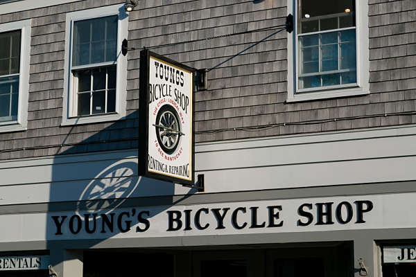 Exploring Nantucket on Foot and Bike